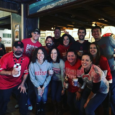 Kelleys Island, OH: OSU Tailgate Party 2015