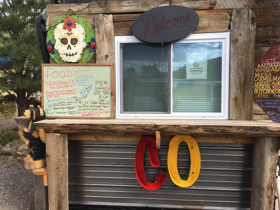 South Fork, Kolorado: These are two new additions to the food truck Mini Golf and KoKo Coffee. Offering espresso,bagel
