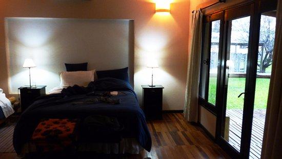 Irupe Lodge: cama comodisima.
