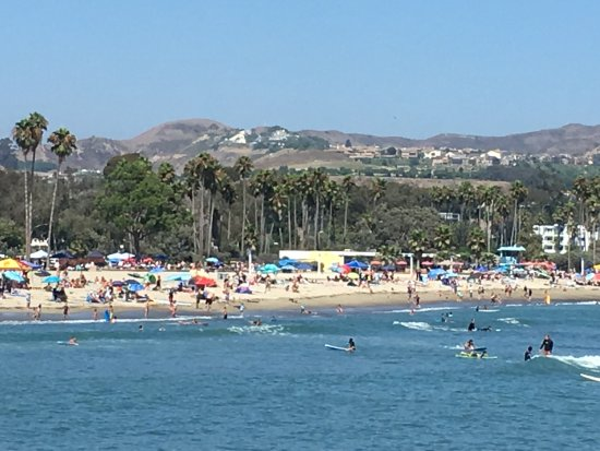 Dana Point, CA: A beautiful day at Doheny Beach!