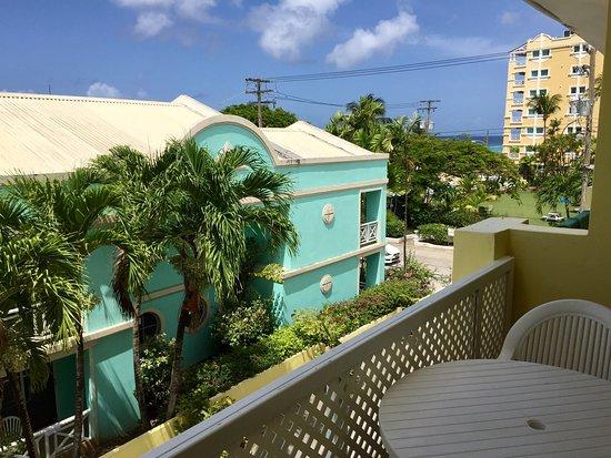 Meridian Inn: Vista desde el balcón
