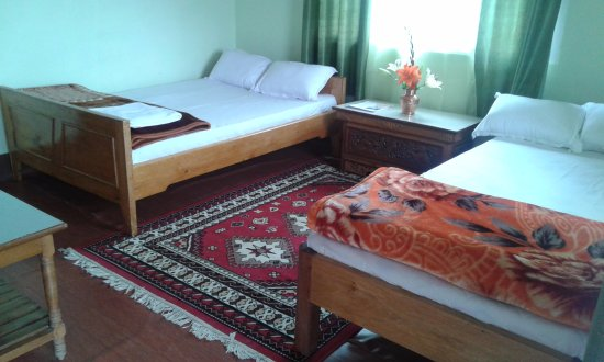 Namchi, India: simple yet comfortable room