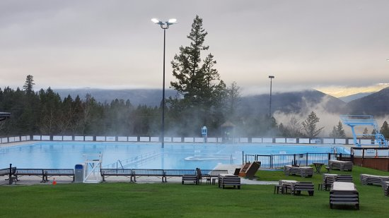 Fairmont Hot Springs, Canada: Бассейны