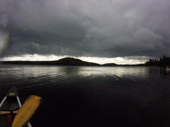 Algonquin Provincial Park, Kanada: about to rain