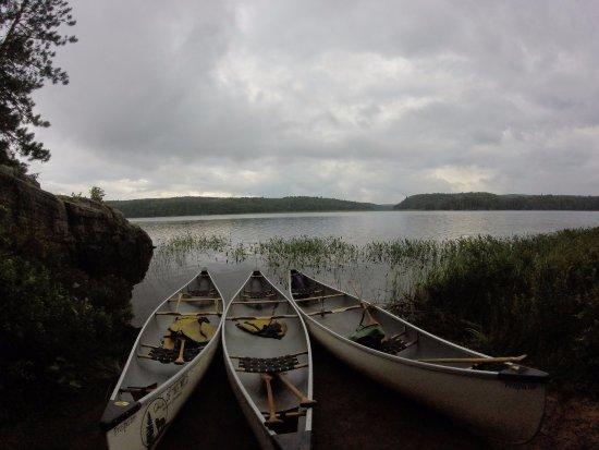Algonquin Provincial Park, Kanada: lunch break