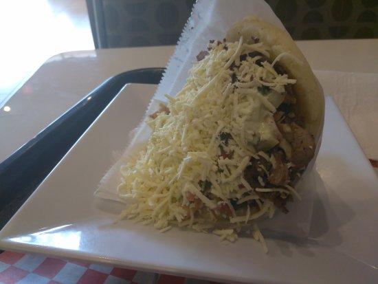Miramar, FL: Delicious arepa