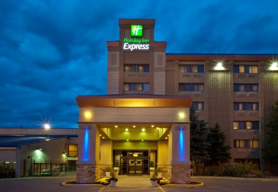 Holiday Inn Express Chicago Palatine: Holiday Inn Express Palatine Arlington Hts- Chicago NW hotel ext.