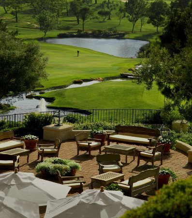 Rancho Bernardo Inn: Buena Vista Terrace and Golf Course