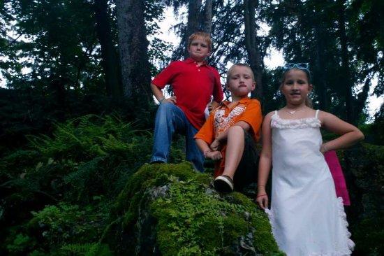 Sonnenberg Gardens & Mansion State Historic Park: Three Musketeers