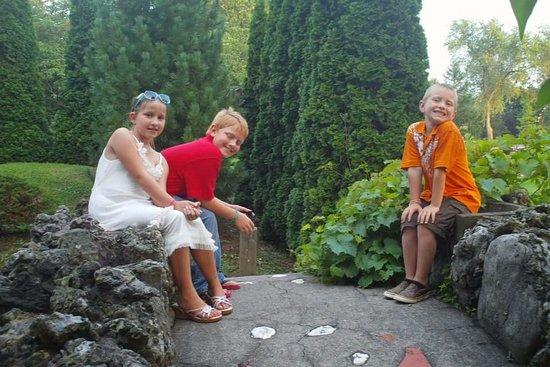 Sonnenberg Gardens & Mansion State Historic Park: Bridge Trio