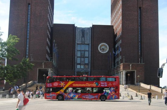 Hop-On Hop-Off Oslo City Sightseeing Bus Tour