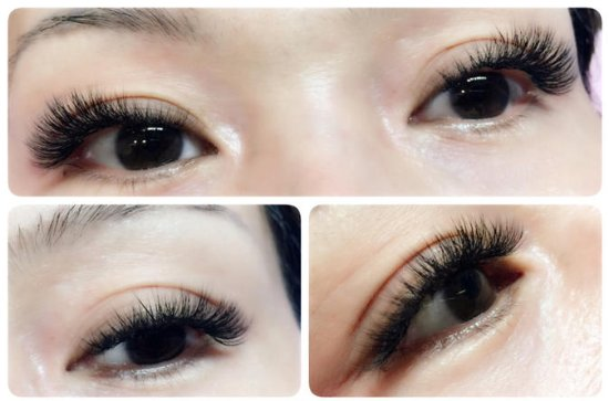 Beautiful Eyelash Extension Treatment...