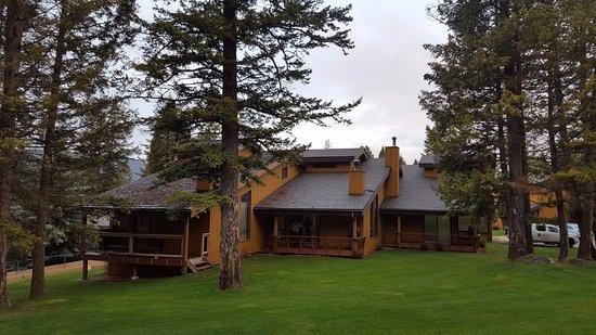 Fairmont Hot Springs, Kanada: Дом с номерами
