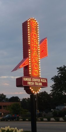 Morton Grove, IL: Hard to miss the sign off of Dempster