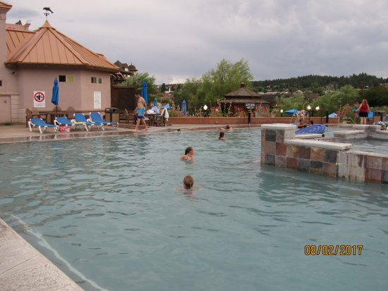 Pagosa Springs, CO: Heat pool with cold pool inside