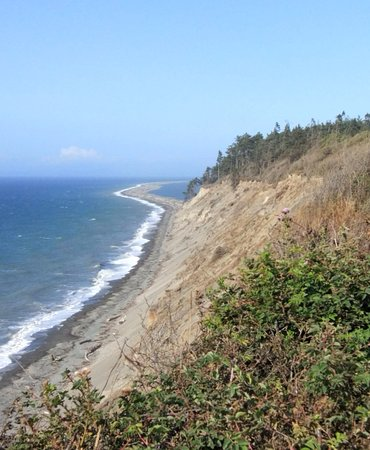 Sequim, WA: View of the Dungeness Spit
