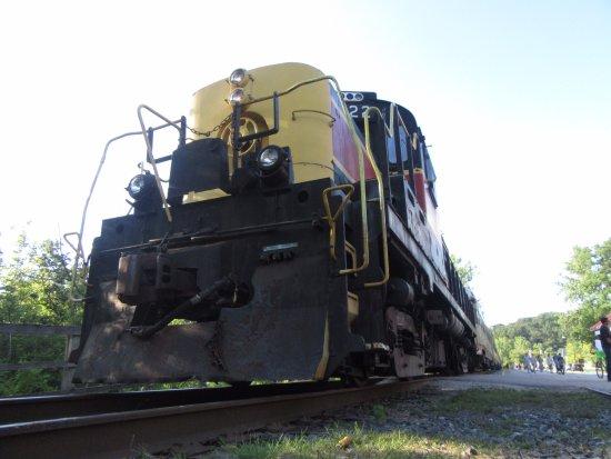 Peninsula, โอไฮโอ: The train engine