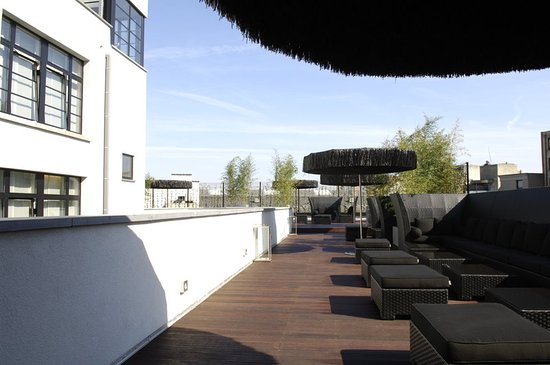 Anderlecht, Belgique : Roof Terrace at Be Manos Hotel Brussels