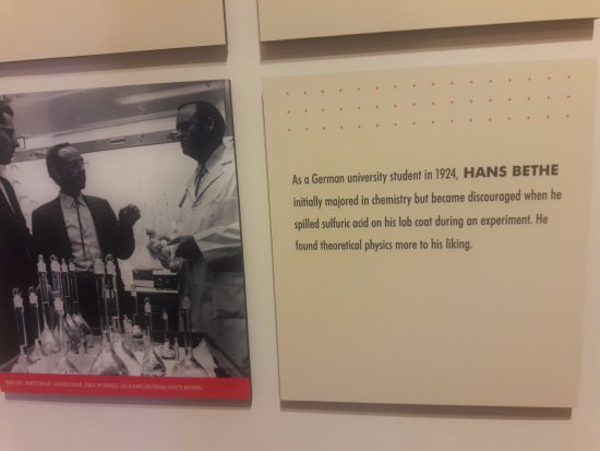 Los Alamos, NM: Hans Bethe: first a chemist, then a physicist . . .