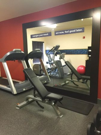 Rancho Cordova, Kalifornien: Updated Fitness Room