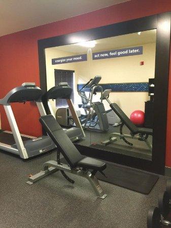 Rancho Cordova, CA: Updated Fitness Room