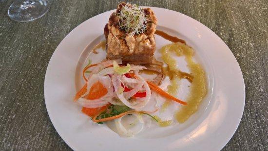 Williamstown, Australie : Pork Belly (Entree)