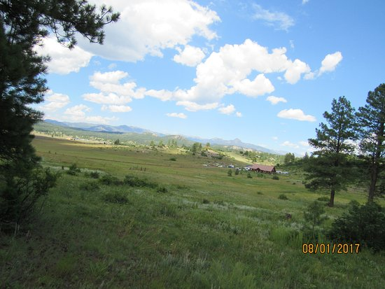 Pagosa Springs, CO: View while riding
