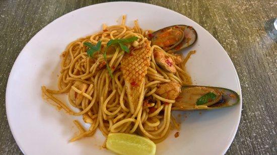 Williamstown, Australia: Spaghetti Marinara (Main)