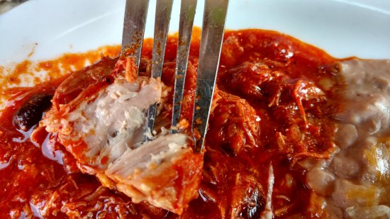Centennial, CO: The pork in red sauce