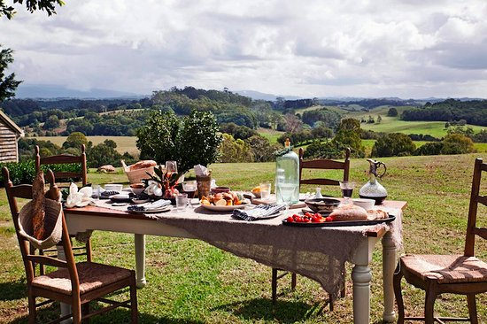 Brooklet, Australien: Lunch at Bhavana Organic Farm and Cooking School