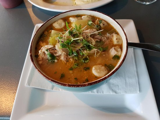 Port McNeill, Canada : Rabbit stew with dumplings