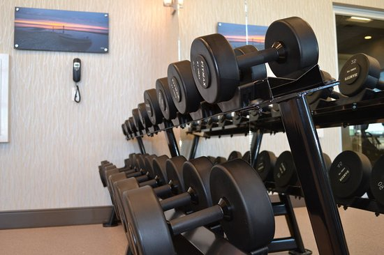 Fitness Center Holiday Inn Express & Suites Cold Lake Hotel