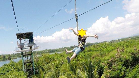 Liloan, Philippines: 絶景のジップライン♪