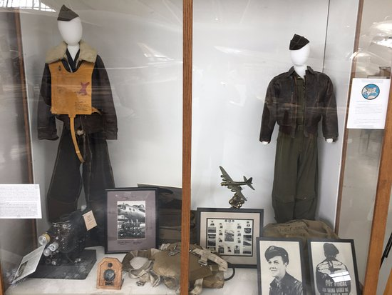 McMinnville, OR: One of the uniform exhibits.