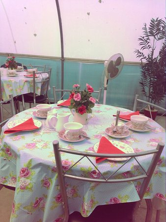 Rushden, UK: Mill End Plants Tea Room