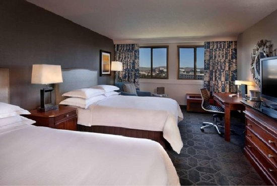 Concord, Californien: Double Beds Scenic View