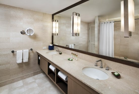 Bathroom Vanities Honolulu ocean view suite - double vanity bathroom - picture of prince