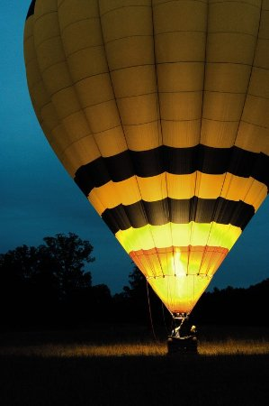 Keswick Hall: Hot Air Balloon