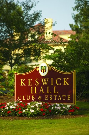 Keswick, VA: Entrance Sign
