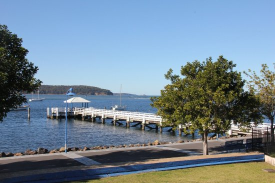 Batemans Bay, Australia: View from Upstairs Waterfront rooms