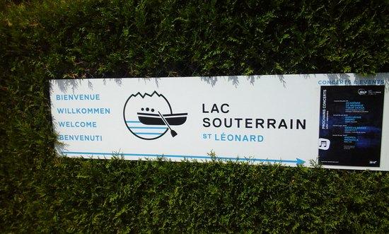 St-Leonard, Switzerland: Bienvenue