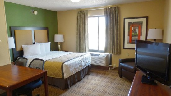 Extended Stay America - Raleigh - RTP - 4610 Miami Blvd.: Studio Suite - 1 Queen Bed