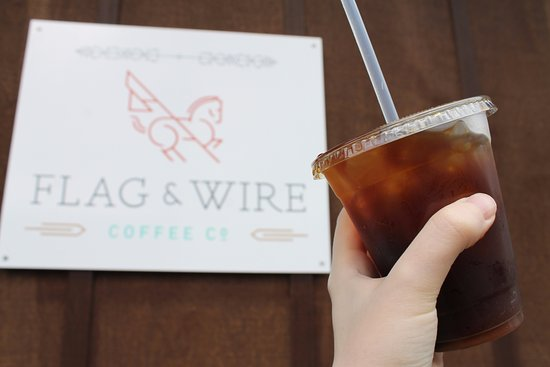 Flag & Wire: Our NITRO cold brew is smooooooooth.