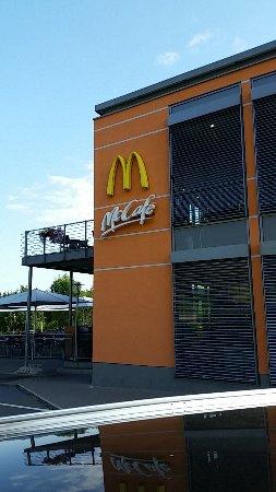 Greding, Tyskland: McCafe samt Terasse