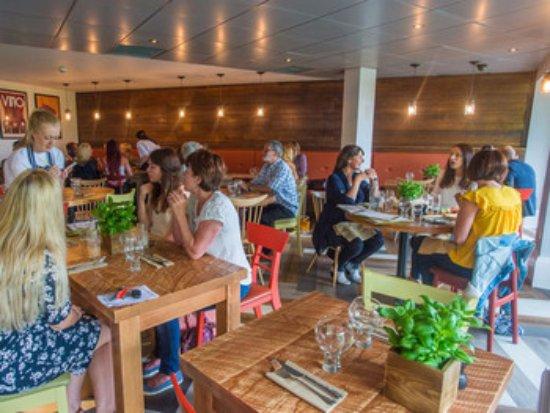 Congresbury, UK: Restaurant Interior