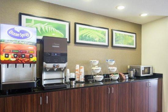Ingleside, TX: Breakfast area