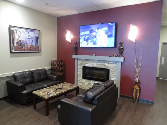Innisfail, Kanada: fireside lounge if you want to get out of the main room