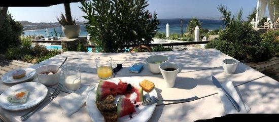 Apollonia Hotel & Resort: Une vue à couper le souffle, une piscine superbe, un petit déjeuner très complet et un service p