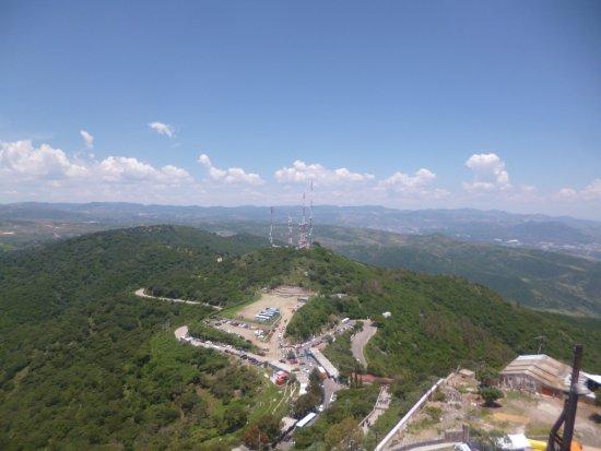 Santuario de Cristo Rey: vista desde lo alto