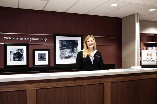 Brigham City, UT: Reception Desk